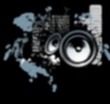 Grunge Speakers Image