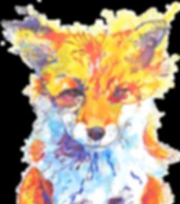 Festival Fox Art Image
