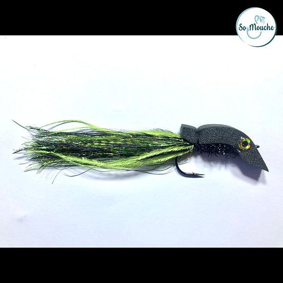 La Baveuse noir-chartreuse Brochet