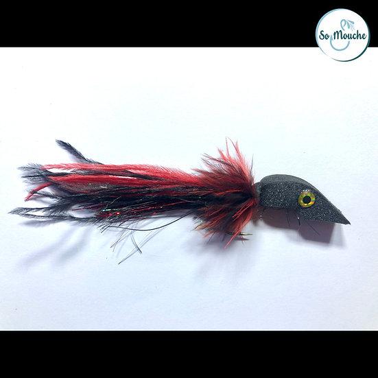 La Baveuse noir-rouge Sandre