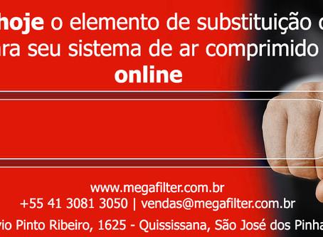 Ferramenta de Pesquisa Online Omega Air para Elementos de Substituição