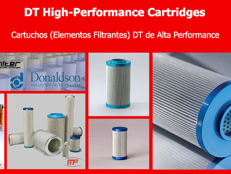 Cartucho (Elemento Filtrante) DT Alta Performance