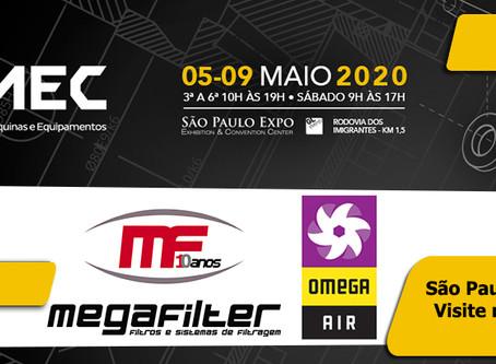 Participação Megafilter FEIMEC 2020