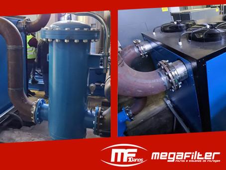Solução Completa para Secagem e Filtração Omega Air