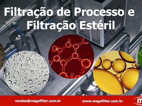 Filtração de Processo e Filtração Estéril