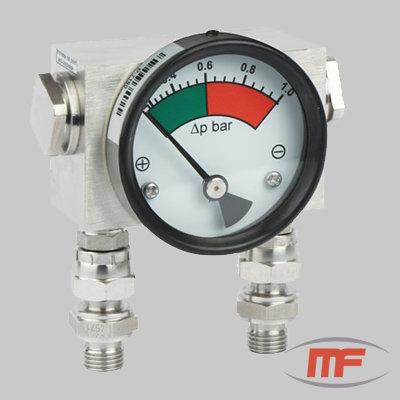 Manômetro de Alta Pressão MDH 400