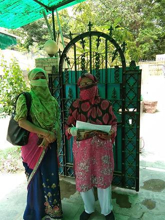 These women did door to door survey abou