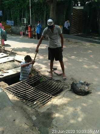 N Block drain cleaning.jpg