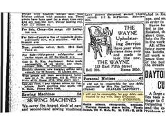 James Newspaper Classified