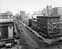The corner of Fifth and Ludlow in 1922
