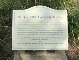 Great 1913 Flood Exhibition Building