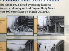Dayton During the 1913 Flood and Today