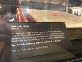 National Cash Register Business Ledger