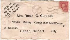 Rose Envelope Text