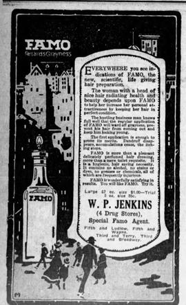 Jenkin's Durg Store Ad 2
