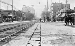 The corner of Fifth and Ludlow in 1906