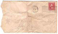 Envelope to Jim