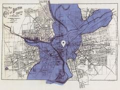 1913 Flood Map