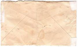 Back of Rose's Envelope