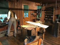 Replica Wright Brothers Workshop