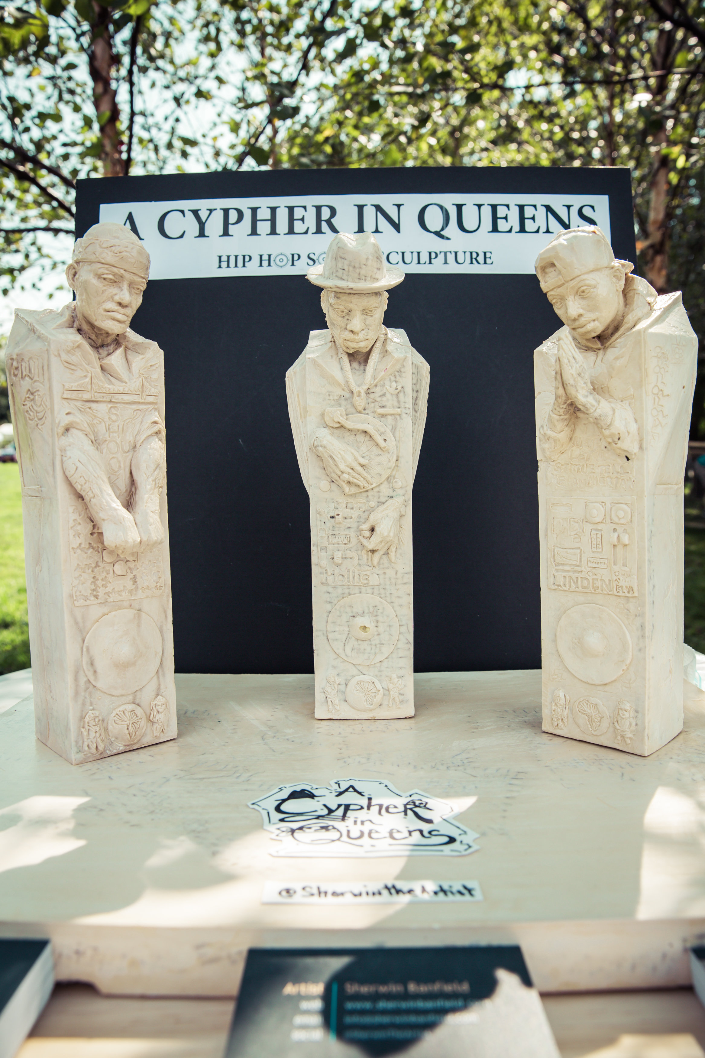 A Cypher in Queens Casted Maquette