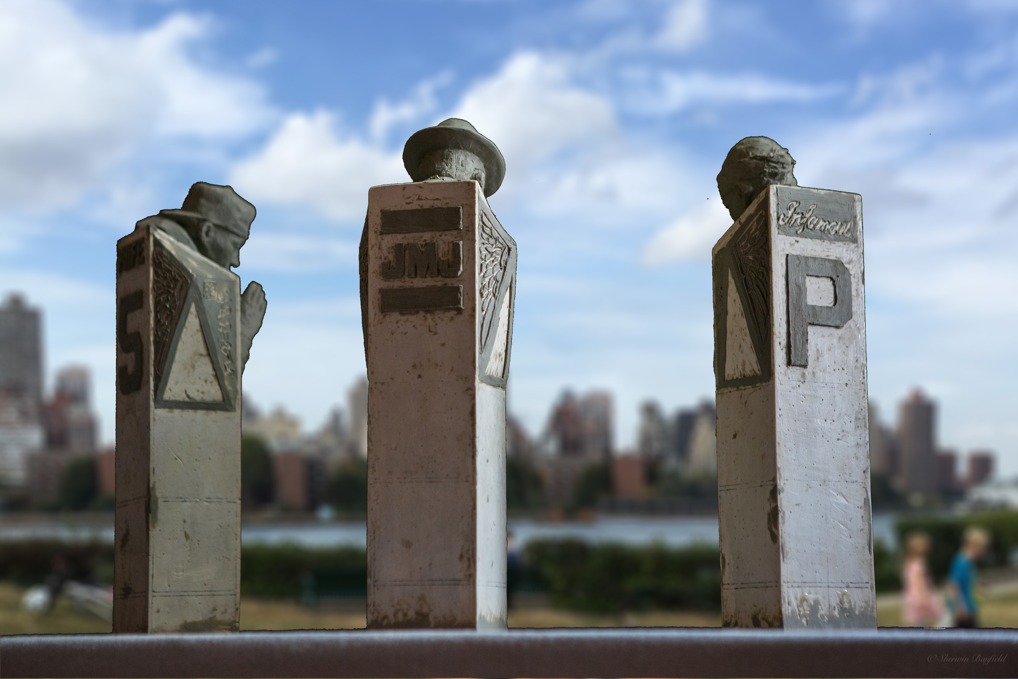 A Cypher in Queens Rear Maquette