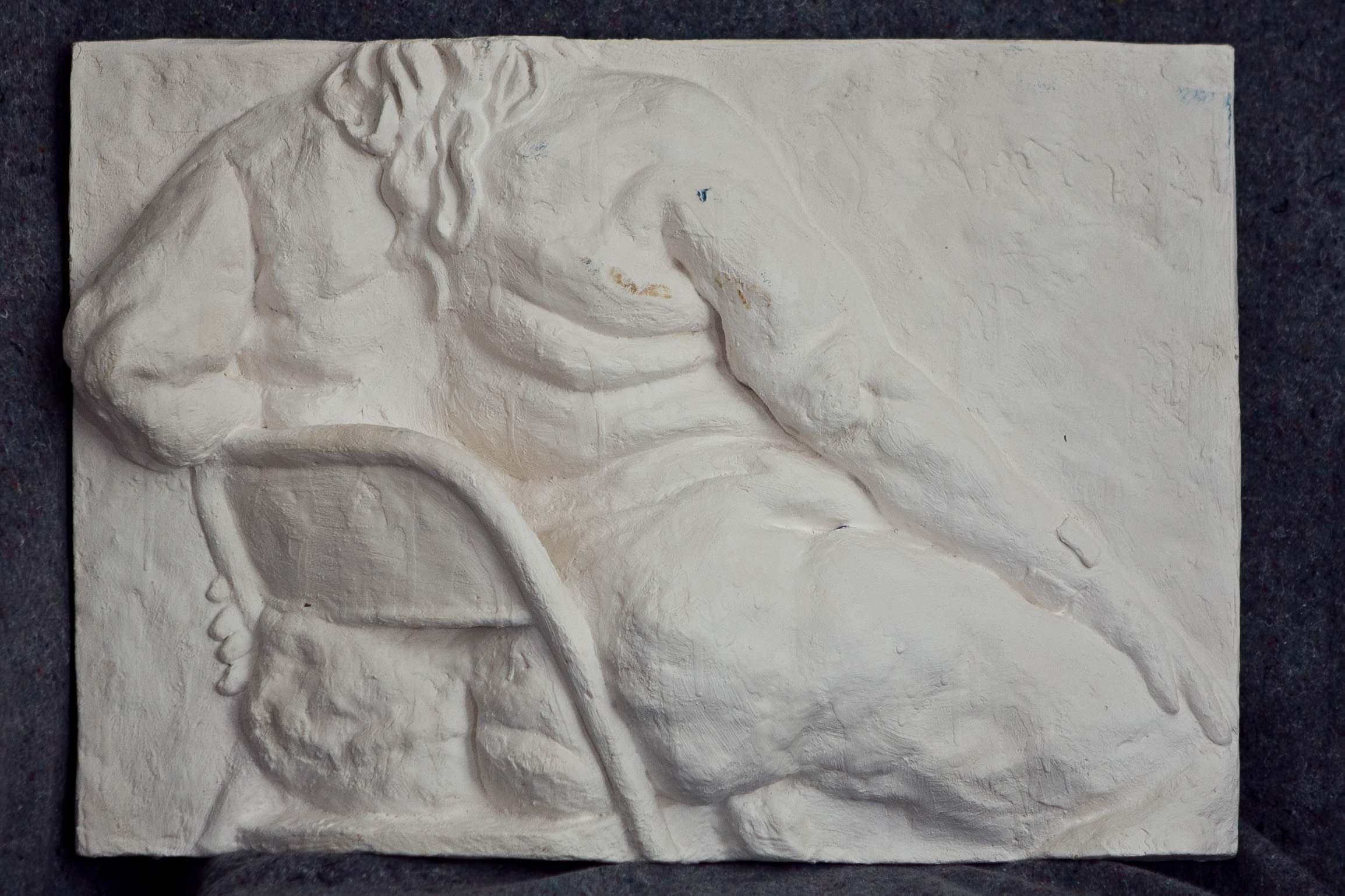 Relief Sculpture study of Aviva
