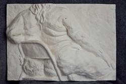 Relief Sculpture study of Aviva