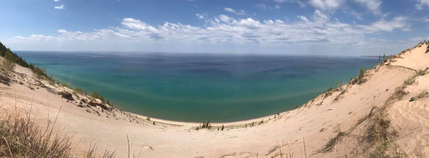 View from Baldy Dune