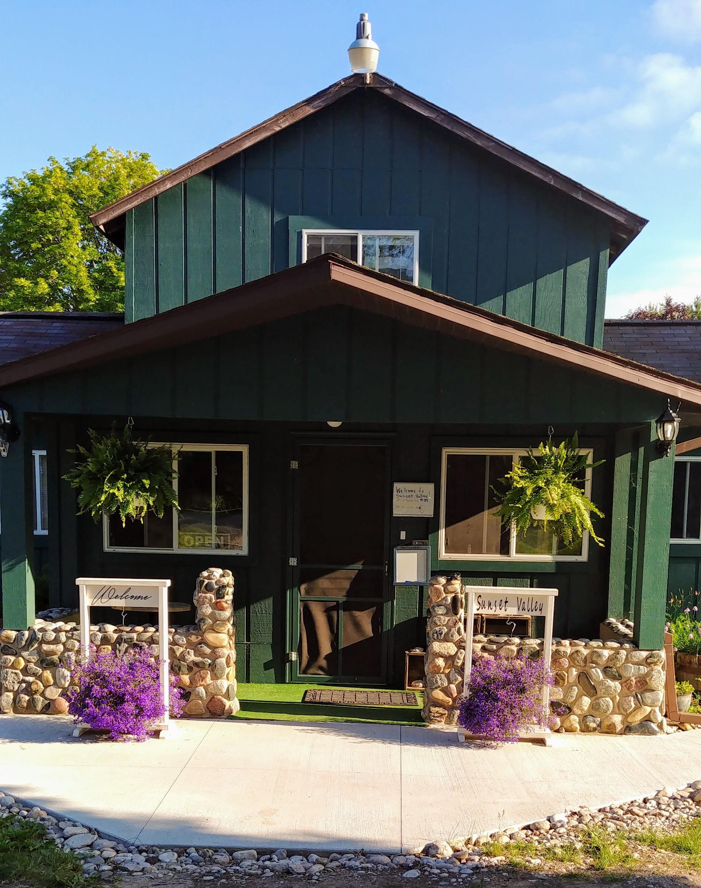 Sunset Valley Resort Arcadia Michigan Welcome