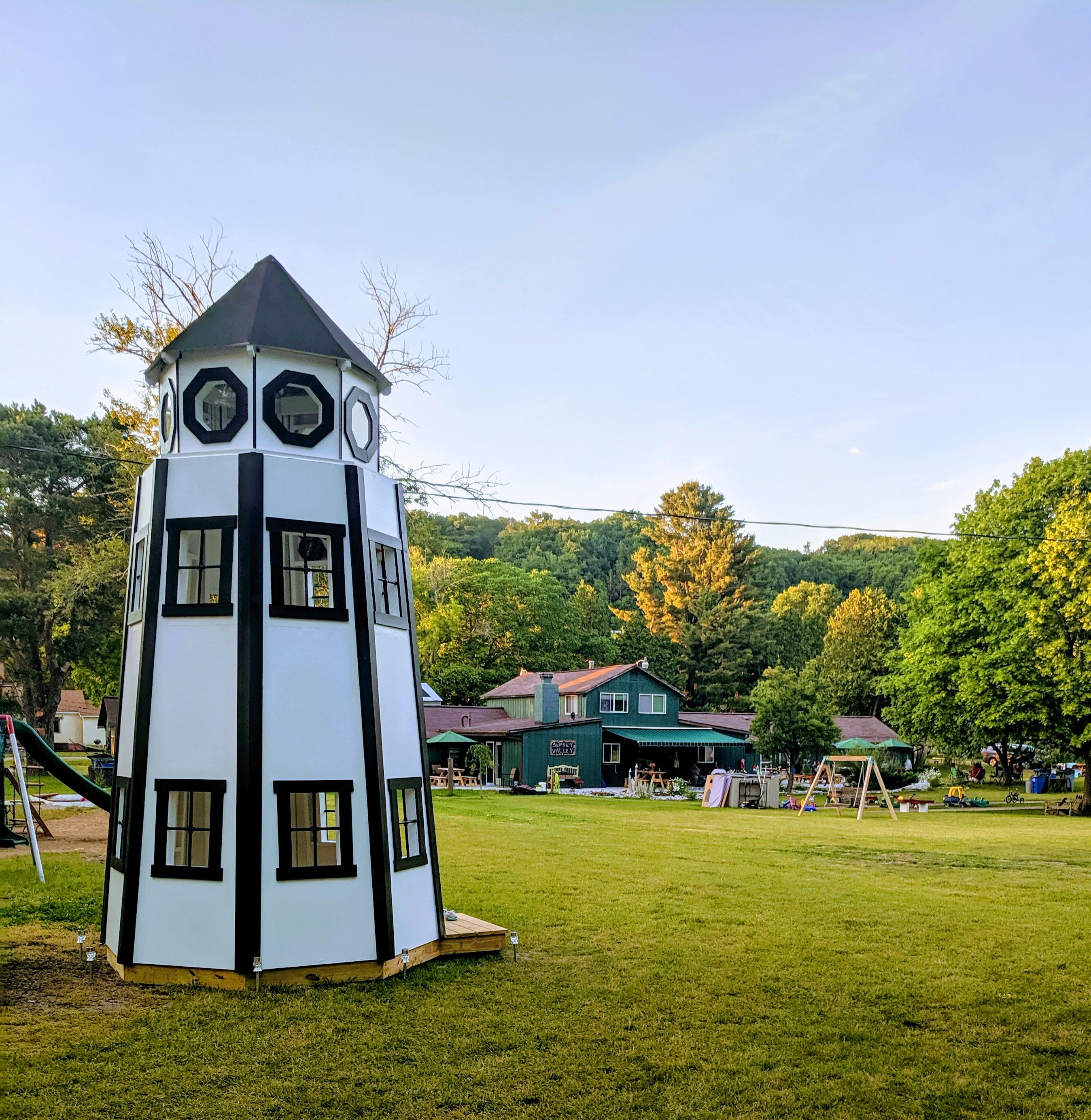 Sunset Valley Lighthouse!