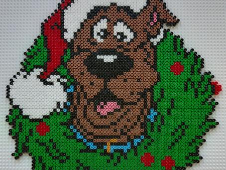 Julekrans med Scooby-Doo