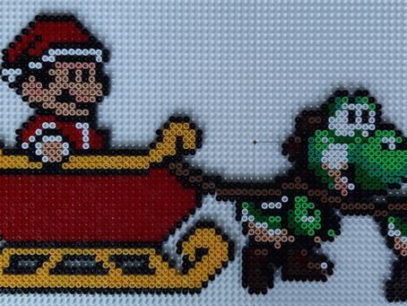 Mario i julemandskane