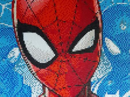 Portræt af Spider Man