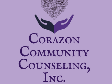 WE ARE NOW CORAZON COMMUNITY COUNSELING, INC!