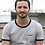 Thumbnail: Tee-shirt Homme Bio, Naoned coeur gris chiné