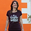 Thumbnail: Tee-shirt Femme Bio, Logo Terribles Nantaises bordeaux chiné