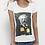 Thumbnail: Tee-shirt Femme Bio, Jules Verne supporteur du FC Nantes