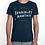 Thumbnail: Tee-shirt Homme Bio, Logo Terrible Nantais bleu chiné