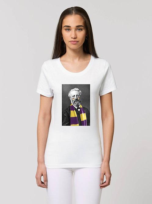 Tee-shirt Femme Bio, Jules Verne supporteur du HBC Nantes