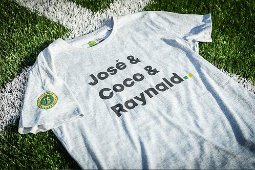 Tee-shirt Homme Bio, José & Coco & Raynald (75 ans FCN)