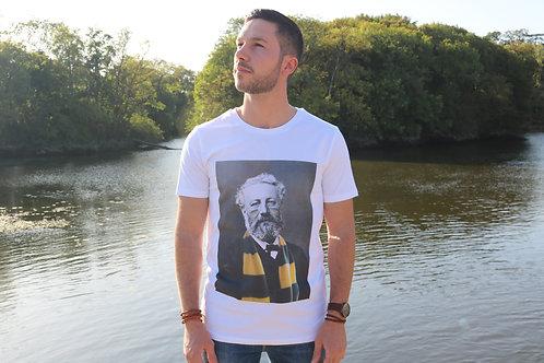 Tee-shirt Homme Bio, Jules Verne supporteur du FC Nantes