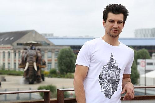 Tee-shirt Homme Bio, Terribles Nantais x Jeronimo