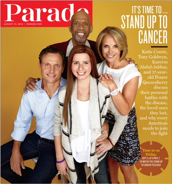 Stand Up to Cancer cover