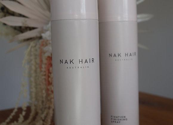 Nak Fixation finishing hair spray