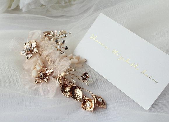 Florence floral clip