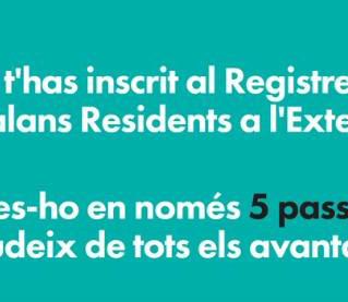 Registre de catalans i catalanes residents a l'exterior