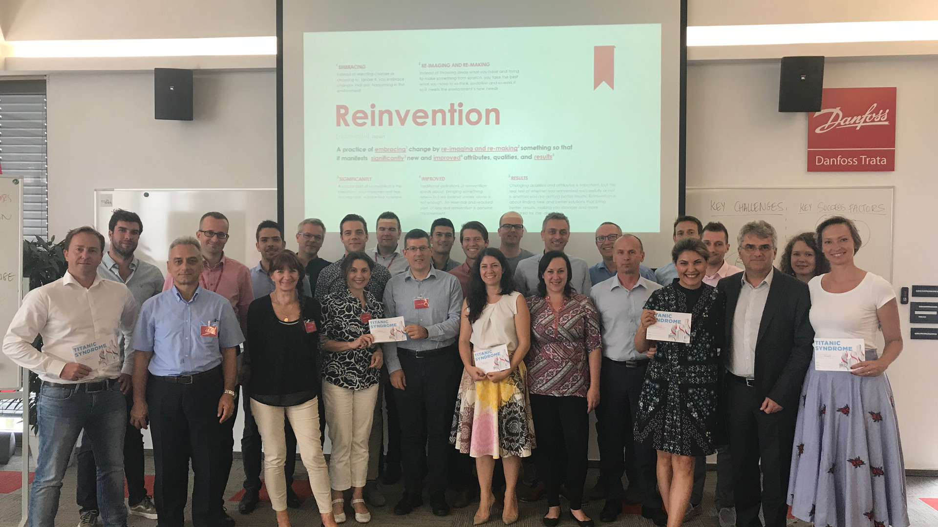 Reinvention Society event in Slovenia