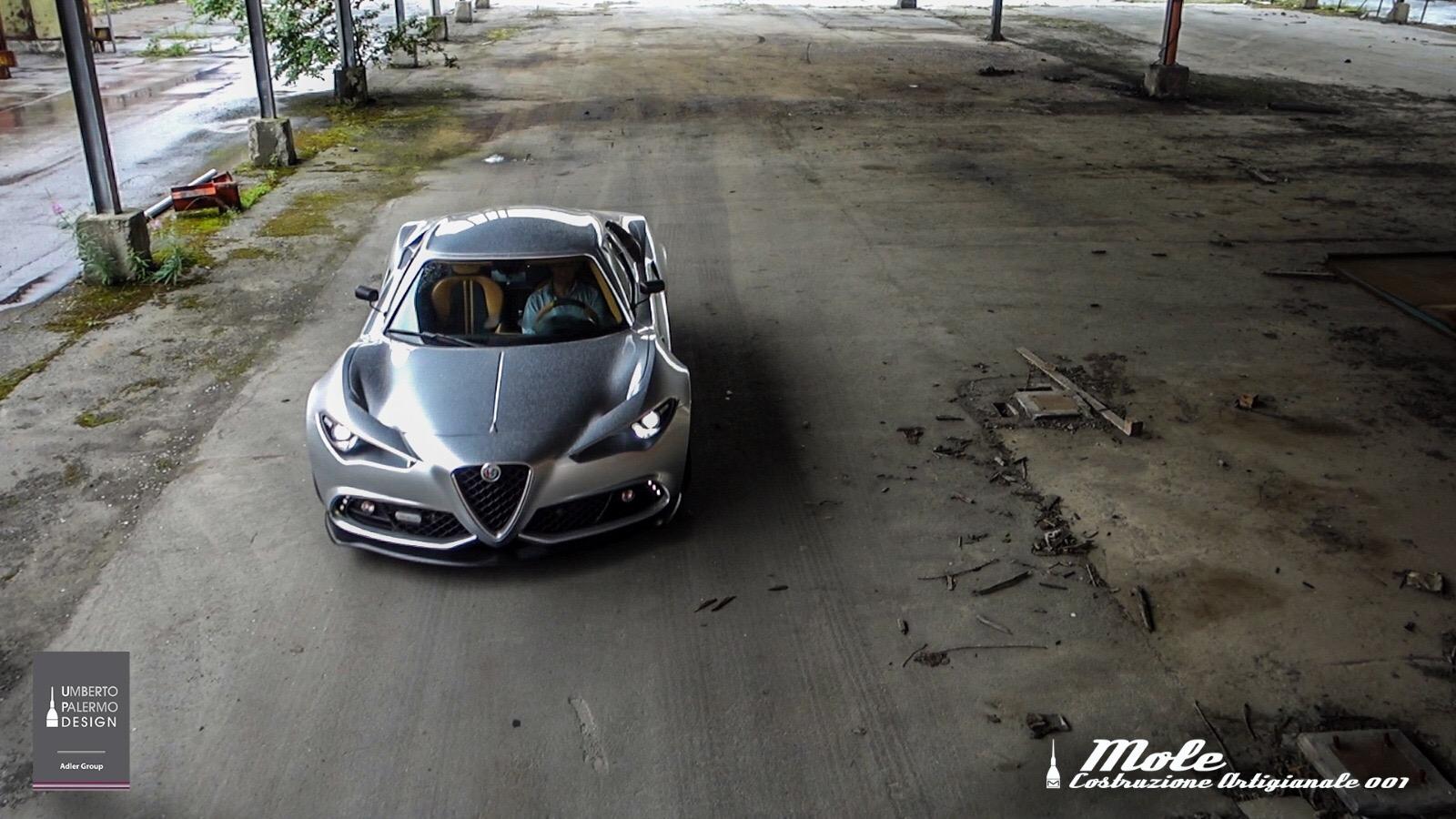 Mole Alfa Romeo 4c Mole