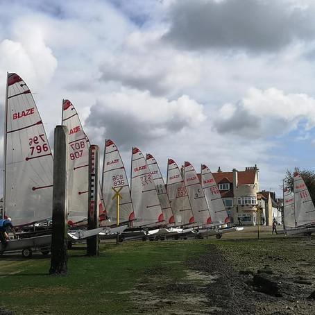 Blaze Open at Warsash Sailing Club